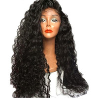 150% density Wet And Wavy Full Lace Human Hair Wigs For Blac...