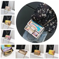 350473f7e99d8 Wholesale small transparent beach bags for sale - Women Handbags Laser  Holographic Jelly Clear Transparent Bags