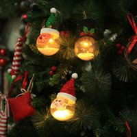 Christmas Decorations with Lamp Foam Particles Christmas Bal...