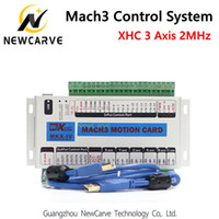 XHC MK4 Mach3 breakout board 3 axis USB motion control card ...
