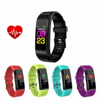 Color Screen Sport Smart Bracelet Fashion Smart Band Heart R...