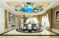 Tapete für Decke benutzerdefinierte Leere star3d Decke Vliestapete benutzerdefinierte Leere Sterne 3d Decke Wohnzimmer Wandbild Tapete für Wände