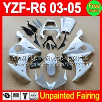 8Gifts YAMAHA YZF-R6 전용 페어링 키트 03-05 YZFR6 YZF600 YZF R6 R 6 YZF 600 03 04 05 2003 2004 2005 페어링 차체 바디 NEW