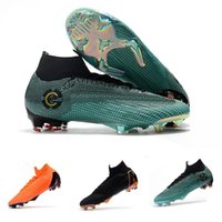 Mens CR7 Melhor Elite Ronaldo KJ VI 360 FG Soccer Shoes Foot...