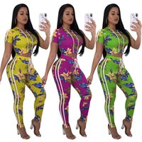 Sexy Bodysuit Women Summer Printed Bodysuits Female Jumpsuit...