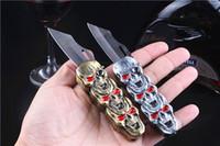2 en 1 créative rechargeable coupe-vent butane gaz allume-cigare jet torche métal squelette crâne forme couteau cuisine extérieure BBQ fonctionnel