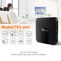 Amlogic S905W TX3 Mini 2 GB 16 GB TV-Box Quad-Core Android 7.1 TV-Streaming-Boxen TX3-Mini besser MXQ Android-TV-Box