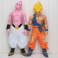 44cm Super Big Son Goku Action Figure Super Saiyan Buu Prefe...