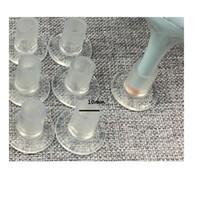 I presi della donna all'ingrosso di alta qualità calza i fermi del tallone chiare protezioni rotonde dei tacchi alti del diametro 10mm delle signore Trasporto libero