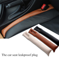 2pcs set Car Seat Cushion Crevice Gap Stopper PU Leather Lea...