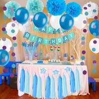 Wholesale Birthday Decorations Paper Flowers