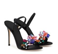 Summer Sexy High Heels Sandals Crystal Fish Toe Clubwear Par...