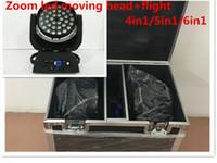 Kafa + Hareketli 36x12W 36x15W 36x18W 4in1 5in1 6in1 Yakınlaştırma Led Kafa Yıkama Işın Etkisi Işık Hareketli Işık RGBWA UV DMX Led Flightcase