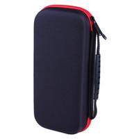 حقيبة حمل جلد التخزين مع 29 فتحات بطاقة لنينتندو التبديل وحدة للماء / الغبار القضية لنينتندو التبديل وحدة التحكم