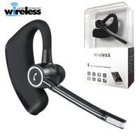 아이폰 삼성 V8s에 비즈니스 블루투스 헤드셋 무선 이어폰 자동차 블루투스 V4.0 전화 핸즈프리 MIC 음악