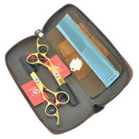 6.0 Zinch Meisha JP440C LINKS Hand Haarschere Set Professionelle Friseure Haarschneidscheren Dünn Tijeras für Salon Uesed HA0376