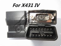 لإطلاق محولات X431 الذكية OBD I II DLC 16E المحولات EOBD Connector 431 Auto Diag IDIAG DIAGUN III IV V PRO 5C V + Adapter