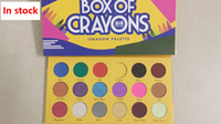 Newest BOX OF CRAYONS Eyeshadow 18 colors Palette Shimmer Ma...