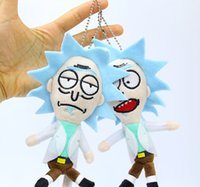 Rick and Morty Plush Doll Toy Cartoon Pendant 15CM 2 Styles ...