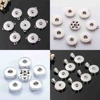 18mm Noosa Topakları Baz Takılar Kolye Kolye Bilezik DIY Takı Aksesuar Için Değiştirilebilir Vahşet Düğmeler Takı