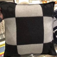 2018 brand new wool plaid h Pillow cashmere wool 45 x 45 cm ...