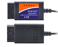 ELM327 USB OBDII Diagnosescanner ELM 327 Kabel USB Schnittstelle Version 1.5 Version 2.1