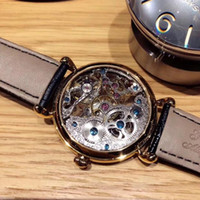 Hot Sale Full Hollow Machine Belt Fashion Men's Watch Waterproof Leisure Watch Personality Special Classic Fashion Men's Watch