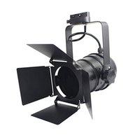 Industrial levou faixa de luz luzes de teatro pretas com lâmpada ferroviário ajustável porta do celeiro de 4 folhas para armazenar estúdio holofotes barndoor