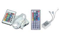 Mini Contrôleur Remote IR 2 ports DC 12V pour RVB SMD 5050 3528 LED SPARD SANS SANS 24 44 TOUCHES