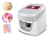 Digitale 3D-Nagelkunstdrucker Malerei Digital-Nagel-Blumen-Kunst-Druck-Salon-Maschine Touch Screen Wifi USB