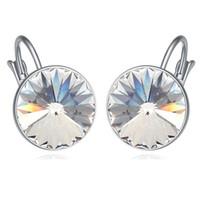 Mode-Qualitäts-Ohr-Stulpe-Ohr-Klipp-Frauen-Schmucksachen Ohrringe Kristall von Swarovski Elements Zubehör 17857