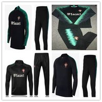 2018 Top PORTUGAL Thailand soccer tracksuit 18- 19 PORTUGAL T...