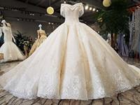 Dubai Imperio Vestidos de novia Vintage Encaje Apliques Crystal Brows Vestidos de novia Árabe Vestido nupcial Tassel Robe de Mariee