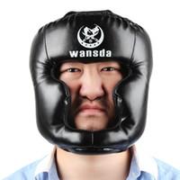 Wansda WSD - 2005 Boks Koruma Şapka Baş Muhafız Kick Eğitim Kask