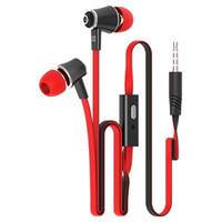 Langsdom JM21 في الأذن سماعات أذن سماعة مع مايكروفون ملون سماعة مركبتي سماعات أذن باس ل iPhone سامسونج LG مع حزمة البيع بالتجزئة
