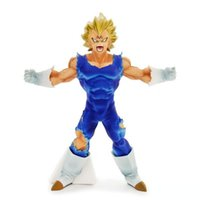 Dragon Ball Z Vegeta PVC Figura SANGUE DE SAIYANS Vegeta Collectible Toy Modelo Estatueta