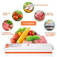 Brand New Haushalt Lebensmittel Vakuumierer Paket Maschinen-Elektro-Film Sealer Vacuum Packer Küche Kit mit 15pcs 20 * 25cm Vakuum-Dichtkissen
