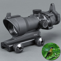 Trijicon ACOG 1x32 Green and Red dot Scope with red dot sigh...