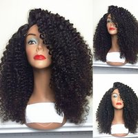 Hot Selling High Quality Heat Resistant Black Afro Kinky Cur...