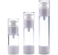 15ml 30ml 50ml bottiglia senz'aria, pacchetto cosmetico, bottiglie di emulsione, contenitore cosmetico, bottiglia della pompa della bottiglia di profumo