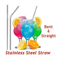 Metal Drinking Straws 304 Stainless Steel Straw Eco Friendly...