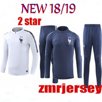2 star 2018 world cup Training suit Soccer train Shirt jacke...