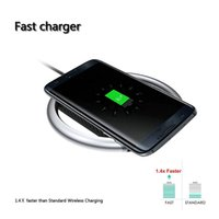 For Iphone X UGPine Fast Quick Qi Charger wireless charger 9...