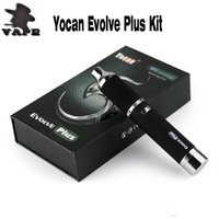 100% Auténtico Yocan Evolve Plus Kit Evolve Yocan Hive Evolve-C Evolve-D Kits E Cigarrillos Cuarzo Dual Coil Wax Vaporizador Dry Herb vaporizer