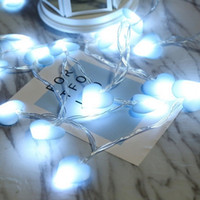 LED love string lights room decoration flash girl photo prop...