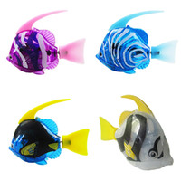 Electric Flash Swim Educational Fish Toys Magical Music Bait...