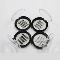 50boxes all'ingrosso 1/2/3 magnetico occhio ciglia 3D riutilizzabile false magnete ciglia estensione nera tre magnetici