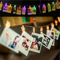 1. 5M 2M 3M Photo Clip Holder LED String lights For Christmas...