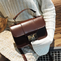 Vintage New Fashion Korean Women Leather Simple Mini Handbag...