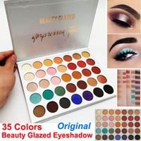 Orijinal Güzellik Sırlı 35 Renkler Göz Farı Paleti Pırıltılı mat makyaj göz Farı Çıplak Güzellik sizi Palet Marka Kozmetik DHL Etkiledi